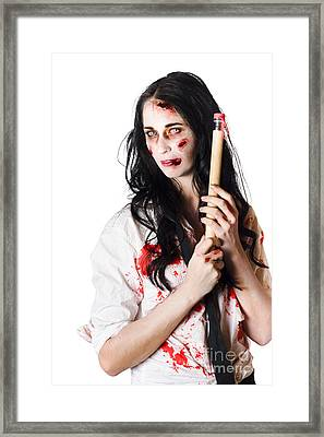 Dead School Teacher Writing Creative Fiction Novel Framed Print by Jorgo Photography - Wall Art Gallery