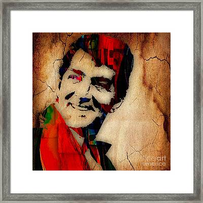 Dean Martin Collection Framed Print by Marvin Blaine
