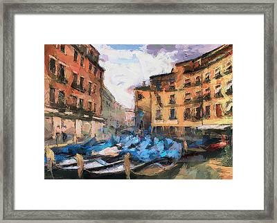 Dear Venice Framed Print