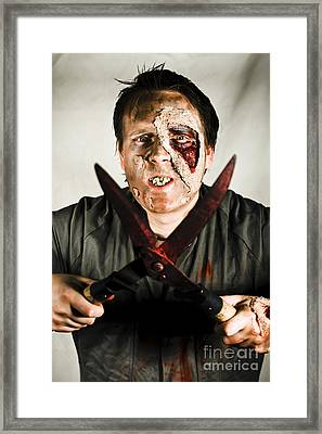 Death By Zombie Framed Print by Jorgo Photography - Wall Art Gallery