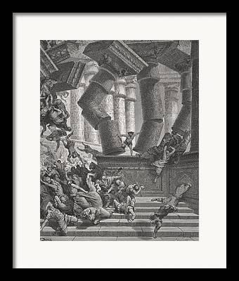 Destructive Drawings Framed Prints