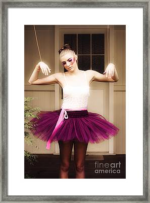Debt Dance Framed Print