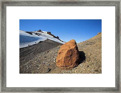 Deception Island Framed Print by Ashley Cooper