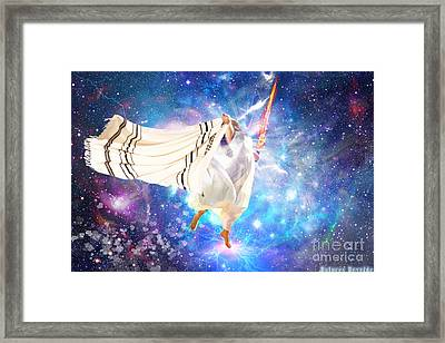 Deep Unto Deep Framed Print by Dolores Develde