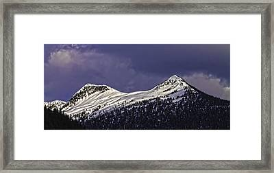 Deer Mountain C009 Framed Print