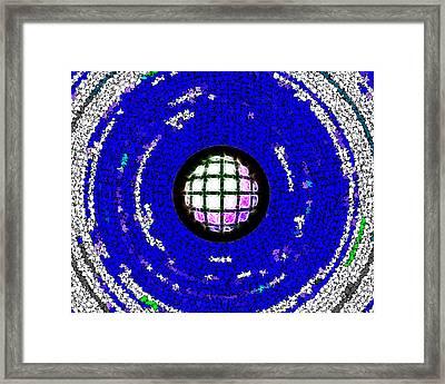 Defrag Framed Print