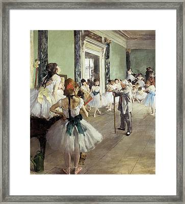 Degas, Edgar 1834-1917. The Dancing Framed Print by Everett