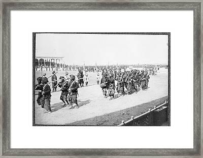 Delhi Durbar Framed Print