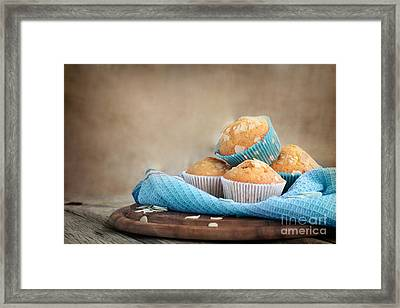 Delicious Muffins Framed Print