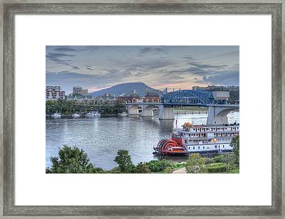 Delta Queen Framed Print by David Troxel