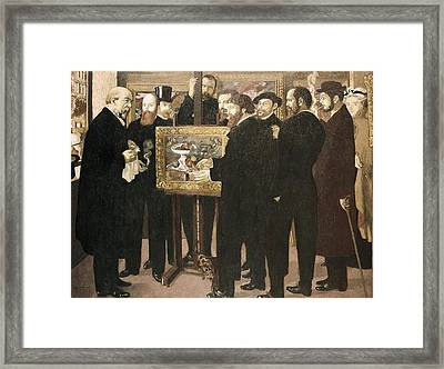 Denis, Maurice 1870-1943. Homage Framed Print