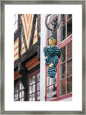 Denmark, Jutland, Aarhus, Den Gamle By Framed Print