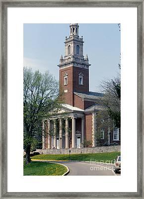 11u113 Dennison University Photo Framed Print
