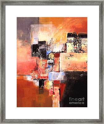 Depth Of Shadows Framed Print by Glory Wood