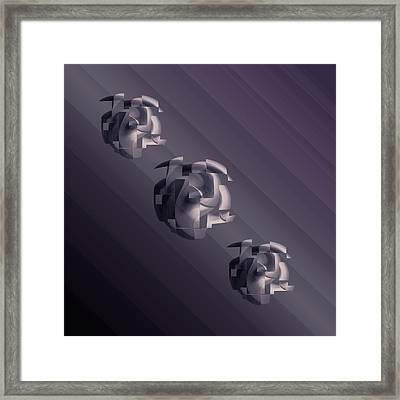 Design Square 53 Framed Print by Joe Connors