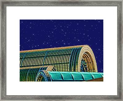 Destination By Night Framed Print by Wendy J St Christopher