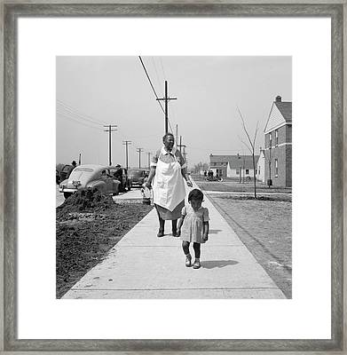 Detroit, 1942 Framed Print by Granger