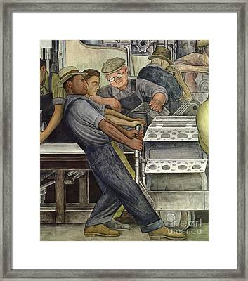 Detroit Industry   North Wall Framed Print