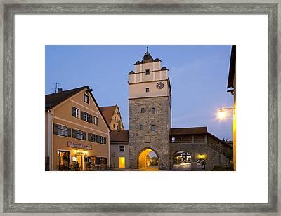 Deutschland, Bayern, Franken Framed Print
