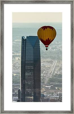 Okc_may_2014-6 Framed Print by Cooper Ross