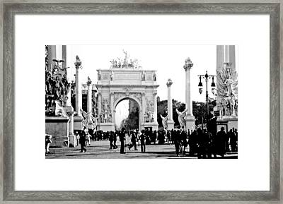 Dewey's Arch New York 1900 Vintage Photograph Framed Print by A Gurmankin