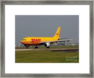 Dhl Airbus A300 Framed Print