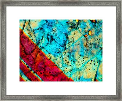 Dho 007 Eucrite 160x Framed Print by Tom Phillips