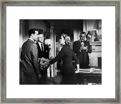 Dial M For Murder  Framed Print by Silver Screen