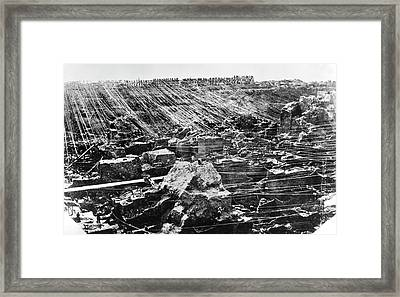 Diamond Mine Framed Print by Patrick Landmann