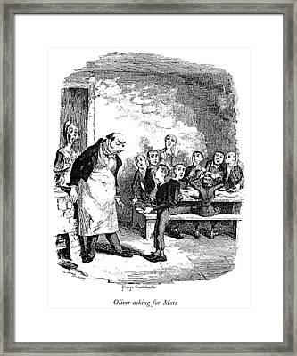 Dickens Oliver Twist Framed Print by Granger