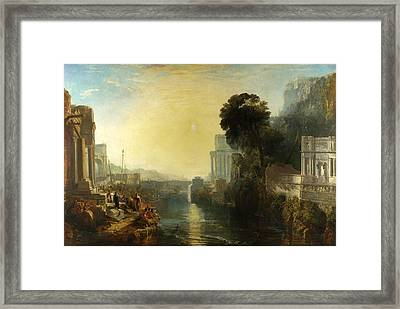 Dido Building Carthage Framed Print by Joseph Mallord William Turner