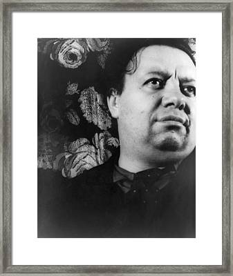 Diego Rivera (1886-1957) Framed Print
