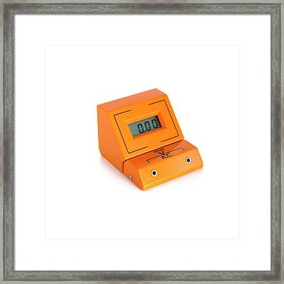 Digital Voltmeter Framed Print