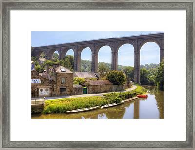 Dinan - Brittany Framed Print by Joana Kruse