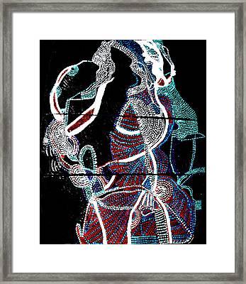 Dinka Framed Print by Gloria Ssali