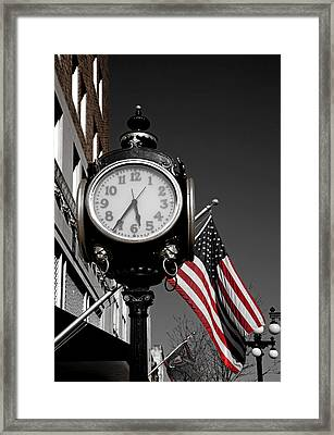 Dinner Time Framed Print by Mountain Dreams