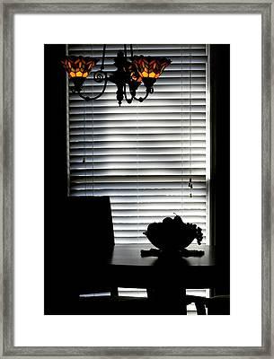 Dinners Over Framed Print by Steve Godleski