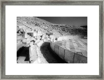 Dionysos Theatre Framed Print by Andonis Katanos