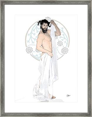 Dionysus God Of Wine Framed Print