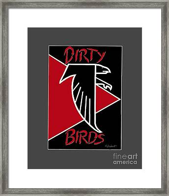 Dirty Birds Framed Print by Herb Strobino