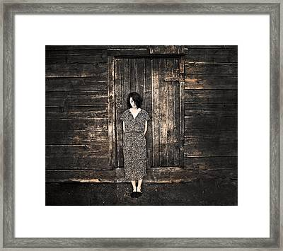 Dirty Thirties Framed Print by Theresa Tahara