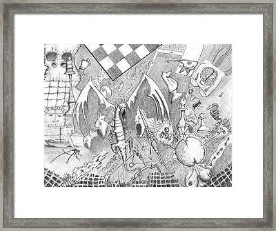 Disintegration Of Sorts Framed Print by Dan Twyman