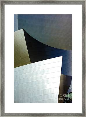 Disney Concert Hall 14 Framed Print by Micah May