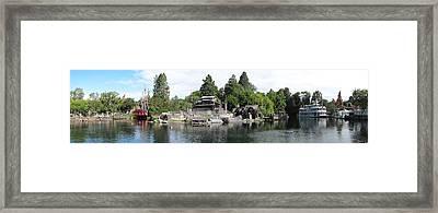 Disneyland Park Anaheim - 12121 Framed Print by DC Photographer