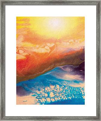 Disquieting Anticipation Framed Print by The Art of Marsha Charlebois