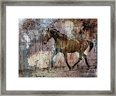 Dissolution Framed Print by Judy Wood