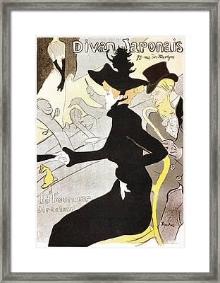 Divan Japonais Framed Print by Charlie Ross