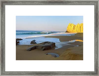 Divorce Beach, Cabo San Lucas, Baja Framed Print