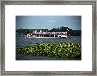 Dixie Boat Framed Print by Thomas Fouch