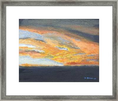 Dixie Sunrise Framed Print